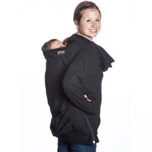 Boba pulover s kapuco – Temno Siva (L velikost)