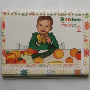 Knjiga z recepti BoobeeFoodee 2 (Klavdija Kosič)