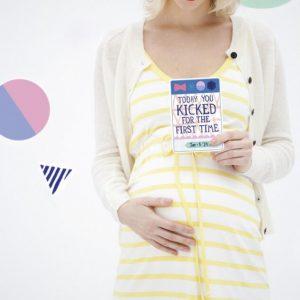 MILESTONE kartice za fotografiranje nosečke