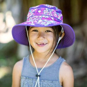 UV otroški klobuček Sunday Afternoons – Flower Garden