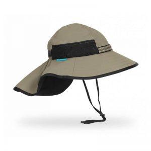 UV otroški klobuček z zaščito vratu Sunday Afternoons – Sand