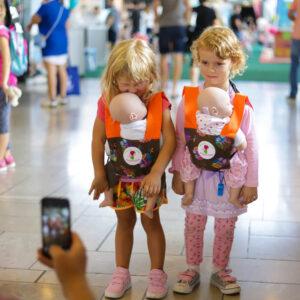 mojŠkratek nahrbtnik za otroške igrače – Sovice