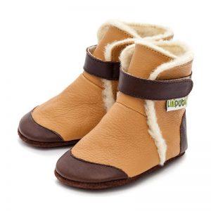 Liliputi usnjeni škorenjčki – Eskimo Caramel