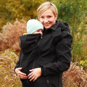 Ženska softshell jakna s snemljivimi rokavi 4v1 - Črna