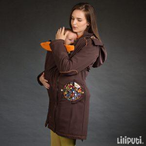 Liliputi plašček 4v1 za nosečnost in nošenje otrok – Folk Tale