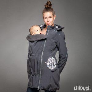 Liliputi plašček 4v1 za nosečnost in nošenje otrok – Skully