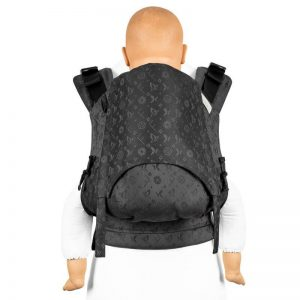 Strukturirana nosilka Fidella Fusion baby - Saint Tropez Charming Black
